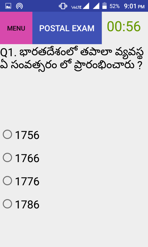 Postman Mail MTS Exam Telugu 1 0 APK Download - Android Education Apps