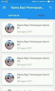 Nama Bayi Perempuan Islami + Artinya 2.4.0 screenshot 1