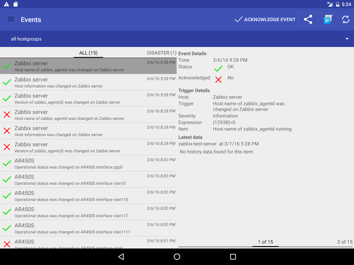 ZAX Zabbix Systems Monitoring 2 5 1 APK Download - Android Tools Apps