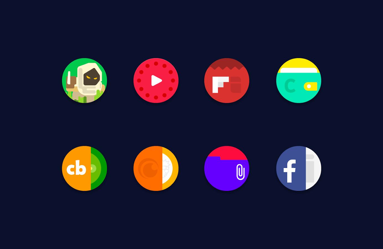 Resultado de imagem para Popsicle / Icon Pack