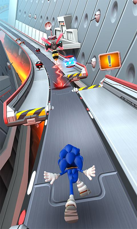 sonic 2 dash apk games