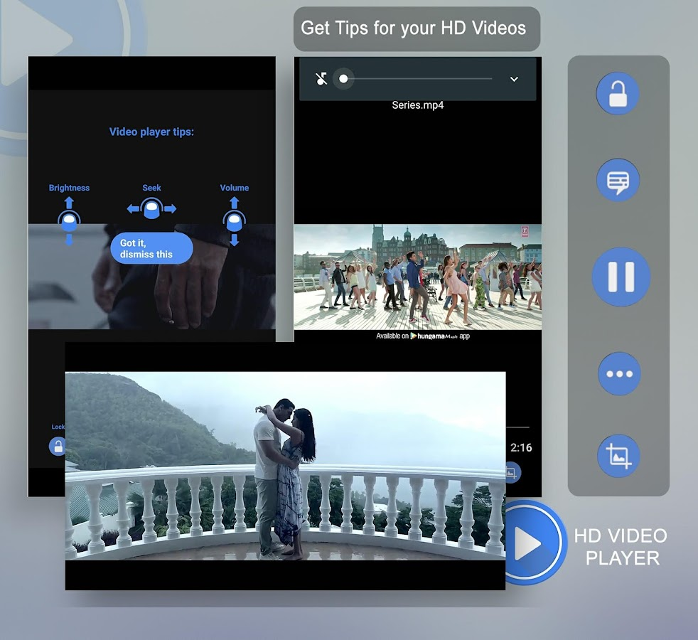 3GP/ MP4/AVI HD Video Player 1 6 APK Download - Android cats
