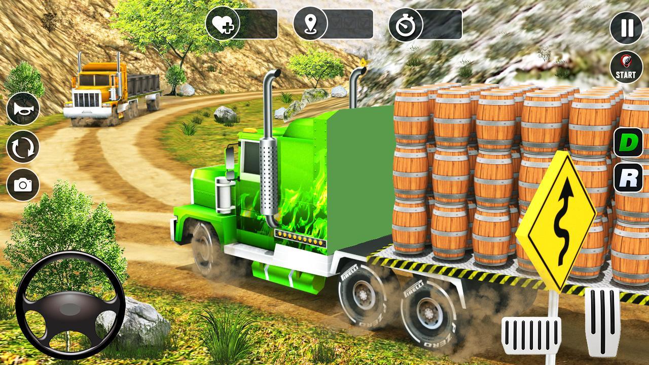Real Truck Driver Cargo Legends Wood Transporter 1 0 APK