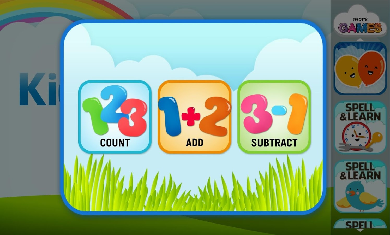 Kids Math 123 1.0.0 APK Download - Android Educational Games