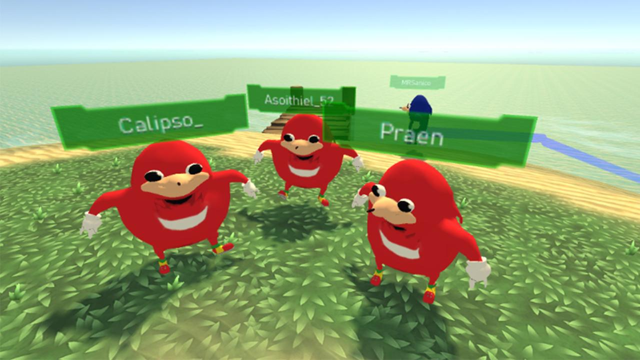 Ugandan Knuckles VR 1 APK Download - Android Casual Games