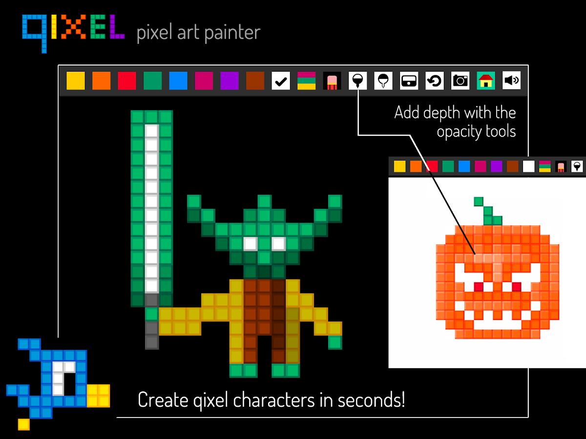 Qixel : Pixel Art Maker Free 1 2 3 APK Download - Android