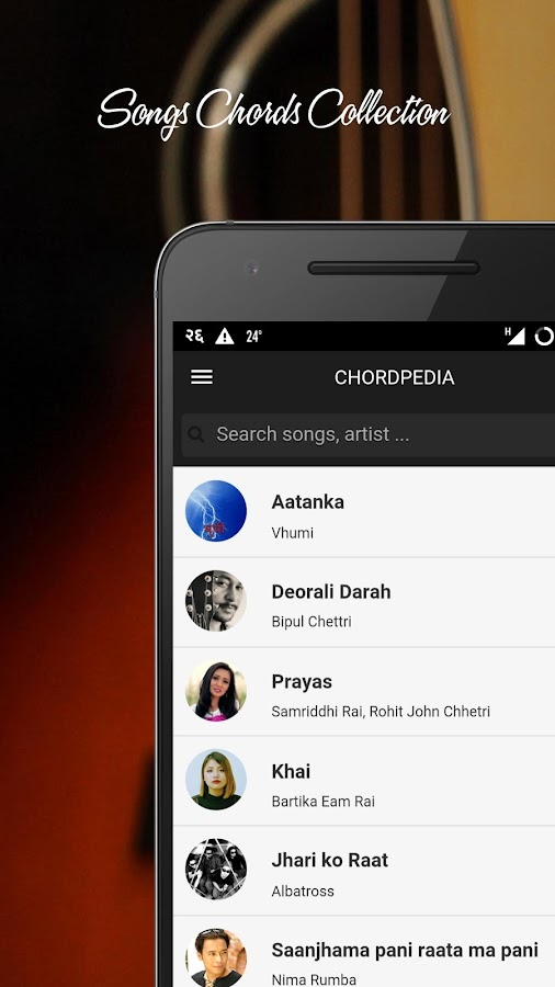 Chordpedia: Nepali Songs Chord 1.2.6 APK Download - Android Music ...