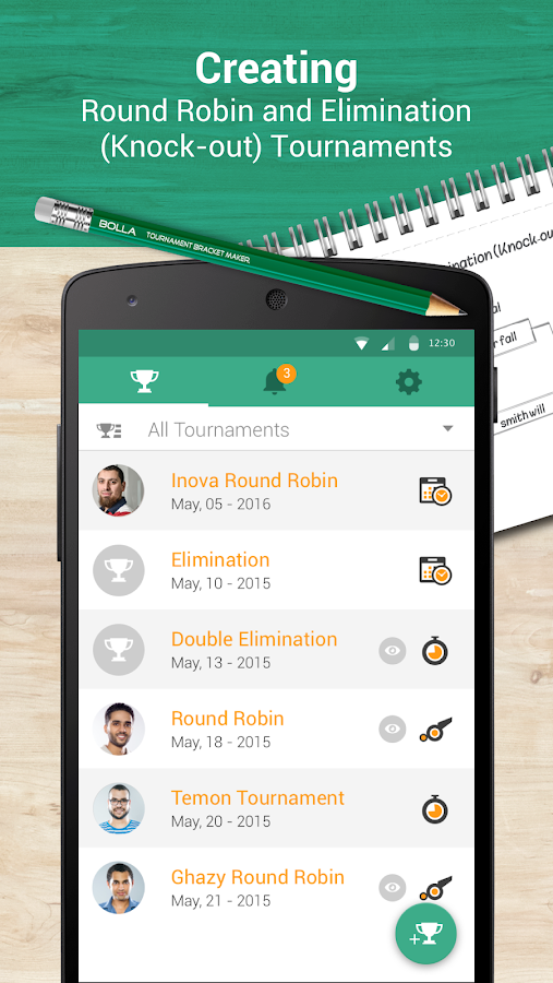 bolla tournament bracket maker 2 5 apk download android sports games