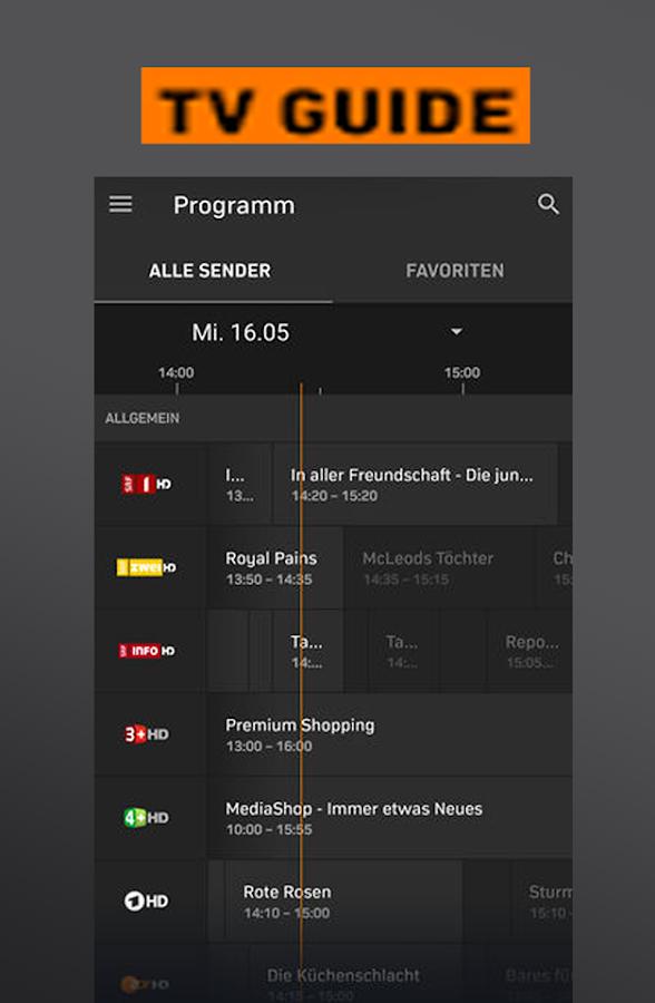 New Zattoo TV App Live Television HD Stream Hints 1 0 APK
