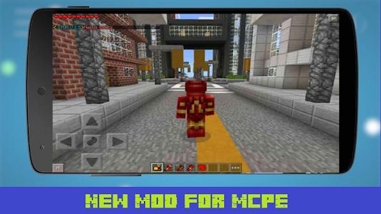 Mod New Iron Hero for MCPE 1.1 screenshot 2