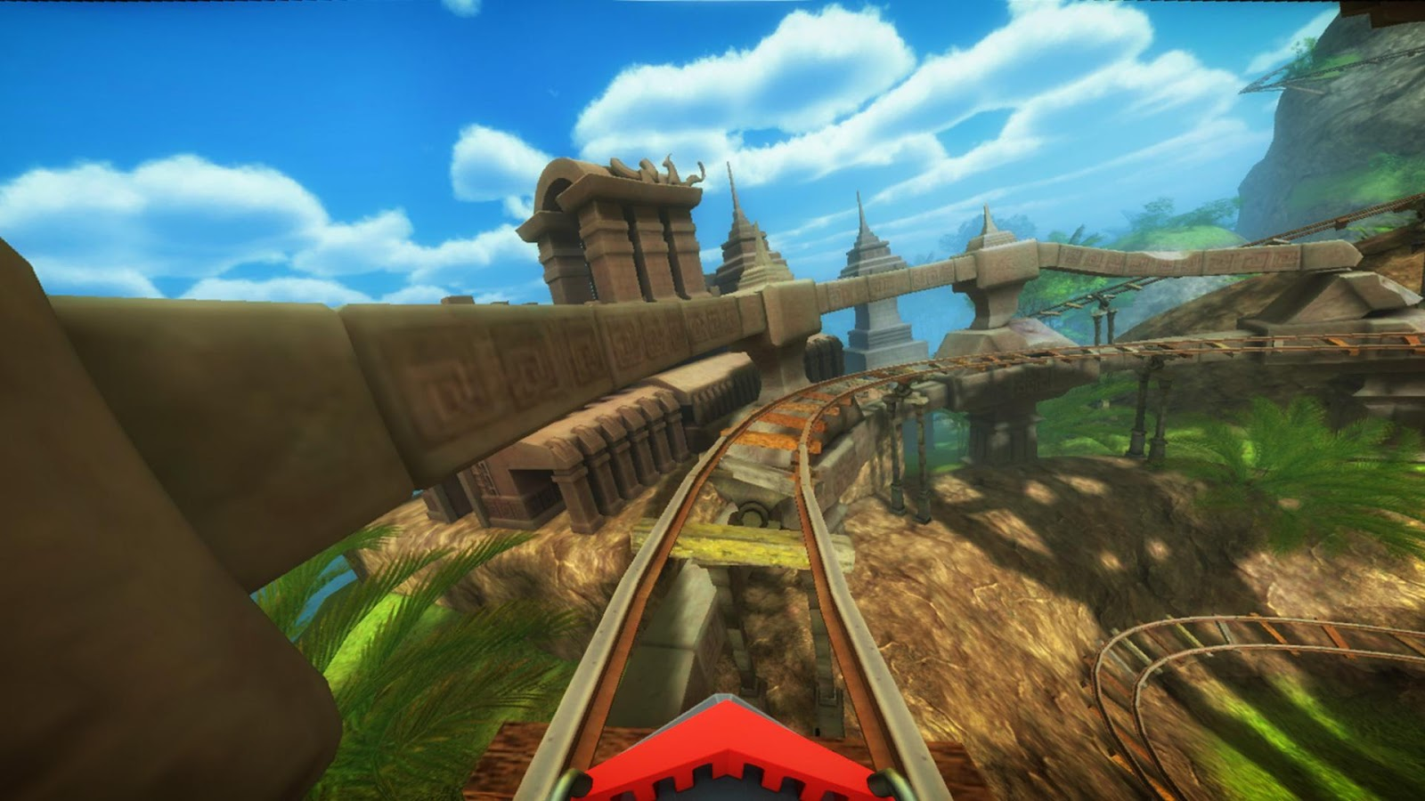 Roller Coaster VR attraction 1 97 APK + OBB (Data File