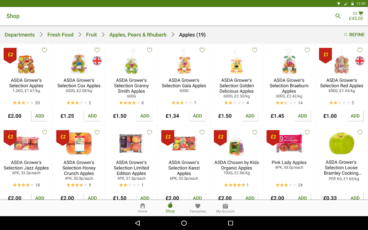 ASDA 18.6.2 APK Download - Android Shopping Apps