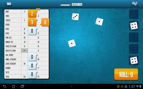 Yatzy Online  screenshot 3