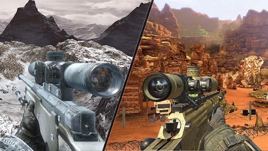 Mountain Sniper Shooting: 3D FPS 7.6 screenshot 13