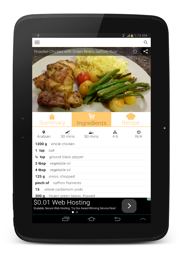 Recipe book free 170 apk download android lifestyle games recipe book free 170 screenshot 6 forumfinder Images