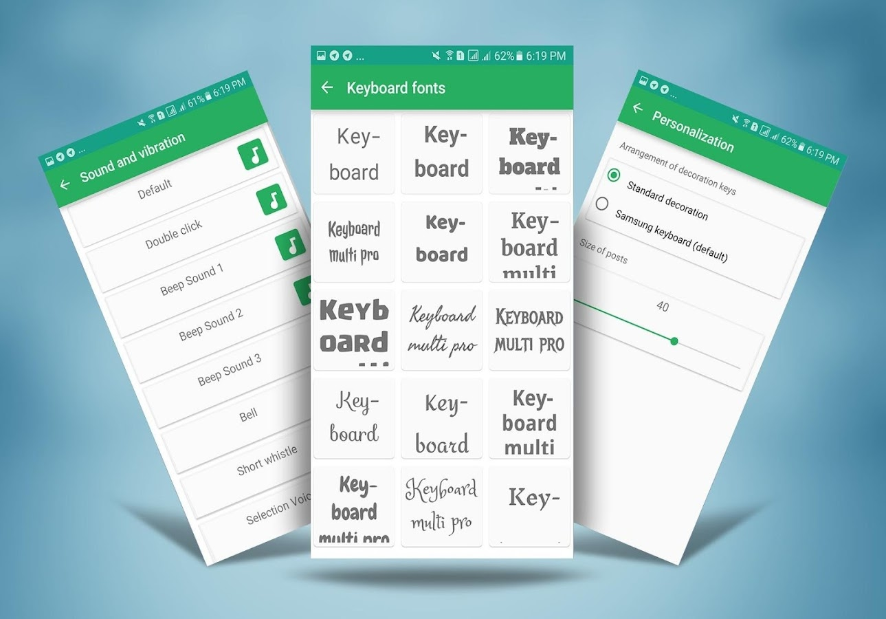 Keyboard Multi Pro 1 6 7 APK Download - Android Personalization Apps