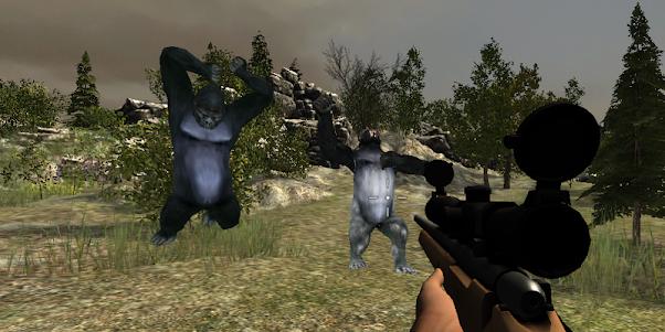 Gorilla Hunter Simulator 2015 1.9 screenshot 4