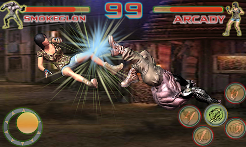 Shadow Ninja Kung Fu Fight 3D 1 screenshot 4