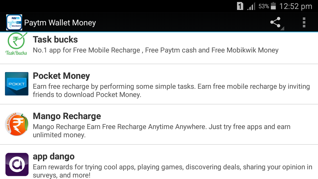 Paytm Wallet Money 1 2 APK Download - Android Entertainment Games
