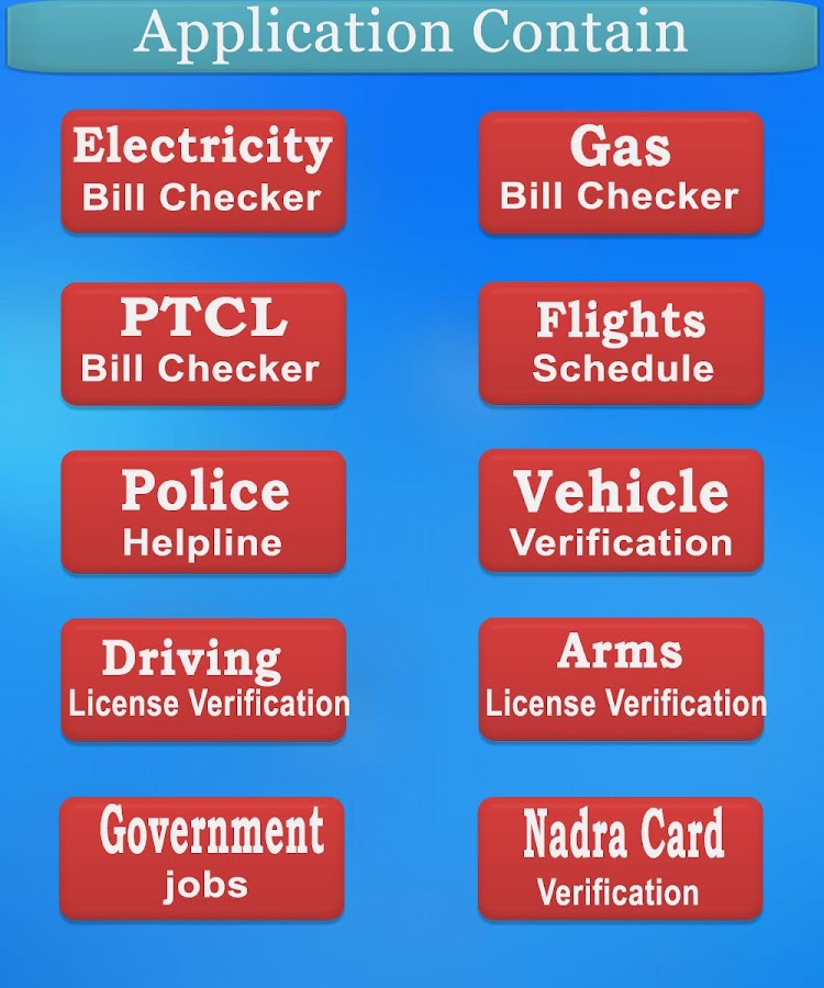 Electricity Bill Checker Wapda Pakistan 2018 19 2 7 2 Apk Download