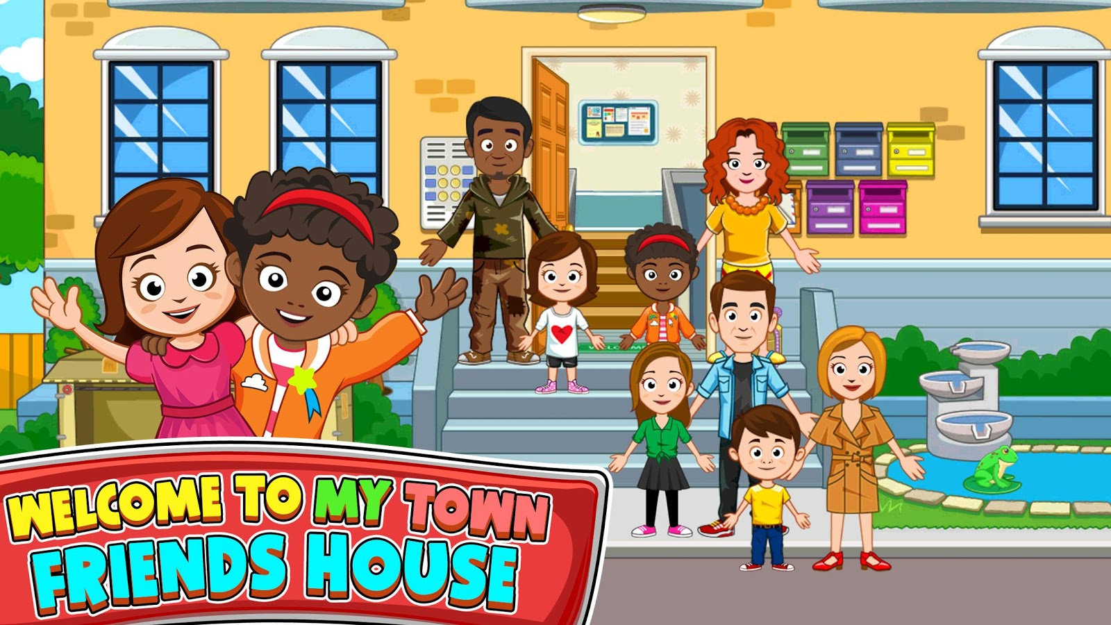 My Town : Best Friends' House 1 09 APK Download - Android