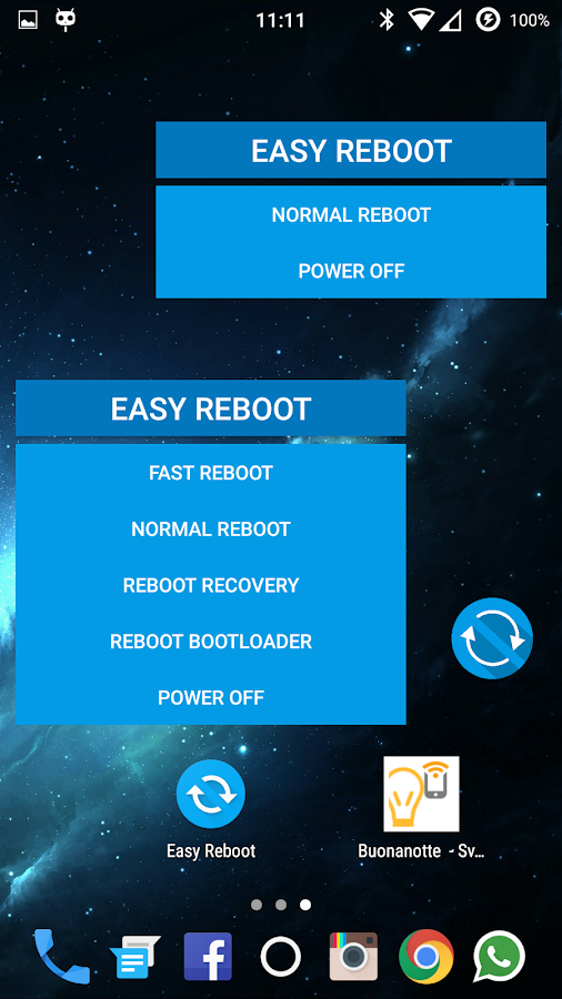 Easy Reboot [ROOT] 81 APK Download - Android Tools Apps