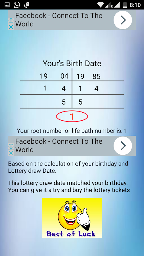 Lottery Date & Love Calculator 4 6 1 APK Download - Android