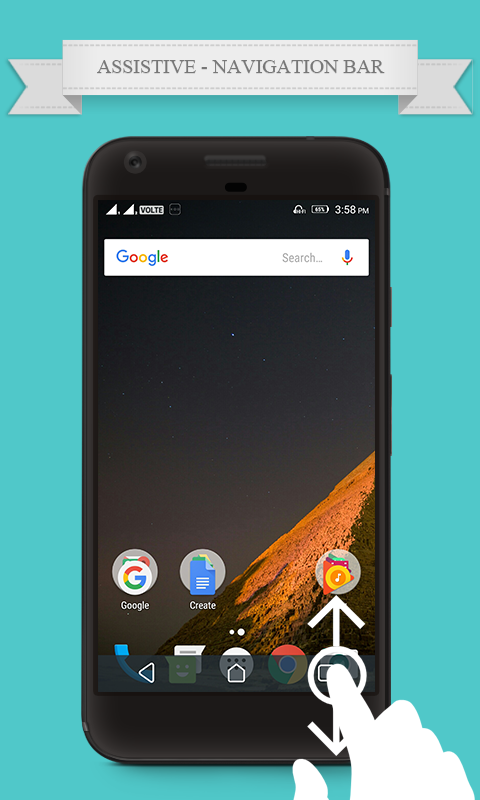 Navigation Bar for Android Assistive Control 1 0 2 APK