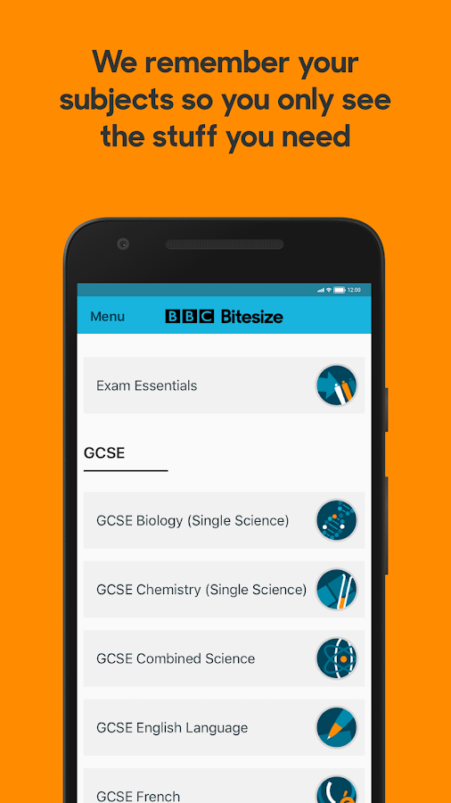 Bbc bitesize revision 204 apk download android education apps bbc bitesize revision 204 screenshot 2 ccuart Image collections