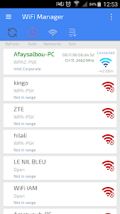 Wifi Manager And Optimizer 3.0 screenshot 1