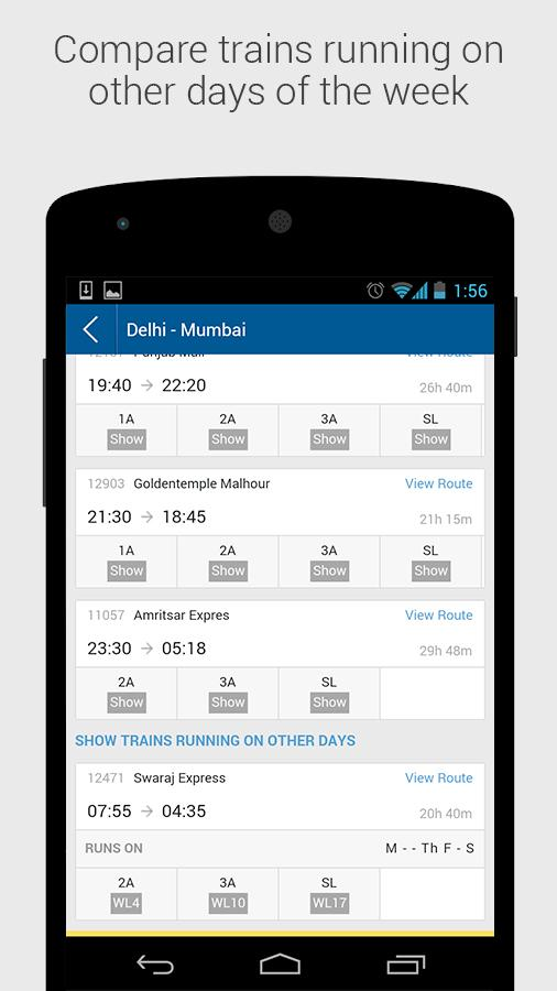 IRCTC MakeMyTrip Train Booking 2.4 APK Download - Android ...