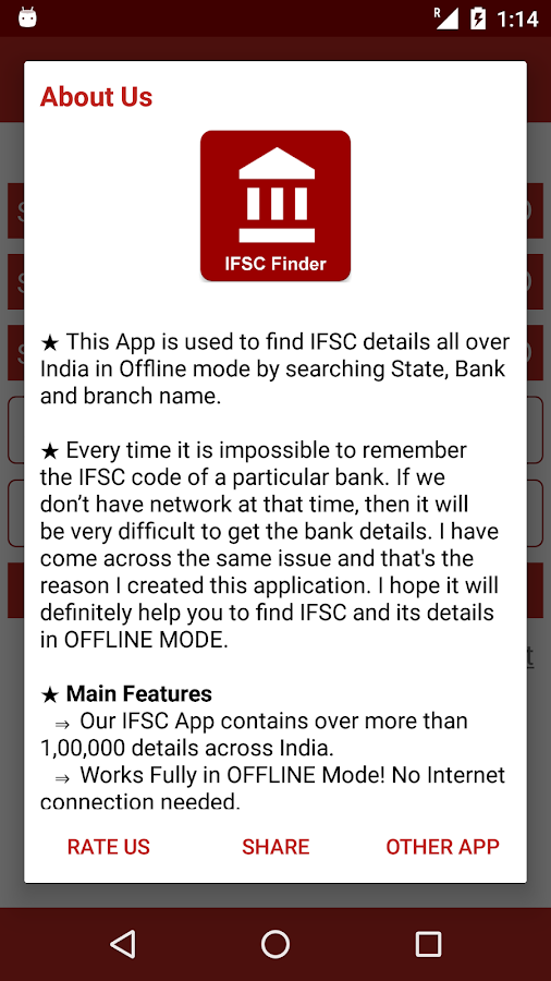 Find IFSC, MICR Codes, All Bank Branches in India 1 0 APK