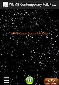 WUMB Contemporary Folk  Radio 1.1 screenshot 1