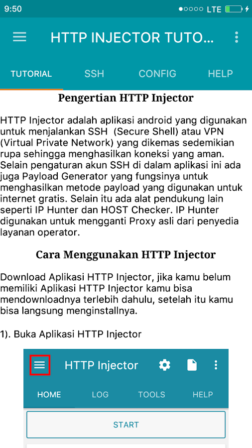 HTTP Injector Tutorial 3 0 APK Download - Android Books