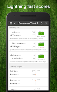 49ers Football: Live Scores, Stats, Plays, & Games 7.7 screenshot 1