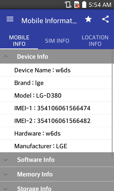 Mobile, SIM and Location Info 1 0 18 APK Download - Android Tools Apps