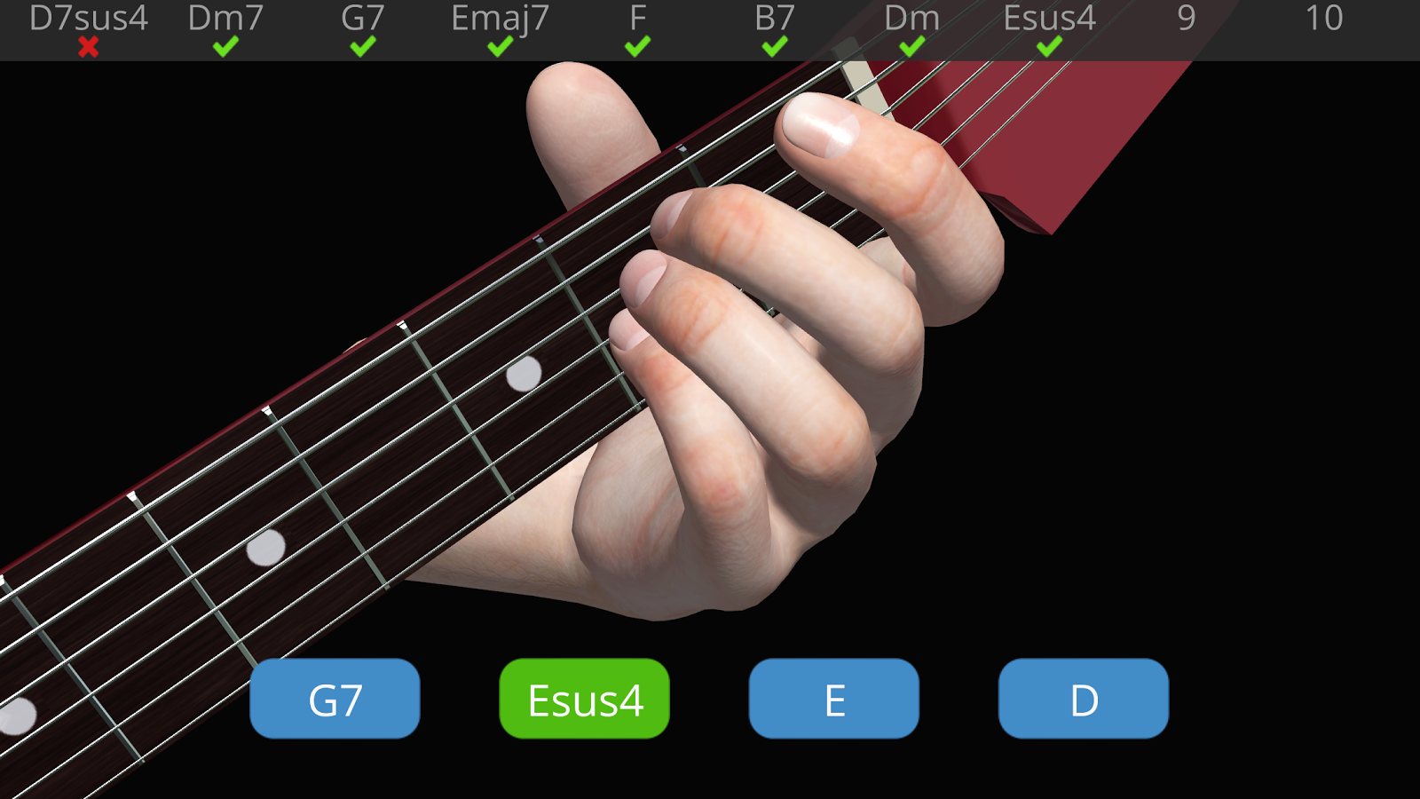 Guitar 3d Basic Chords 121 Apk Download Android Education Apps