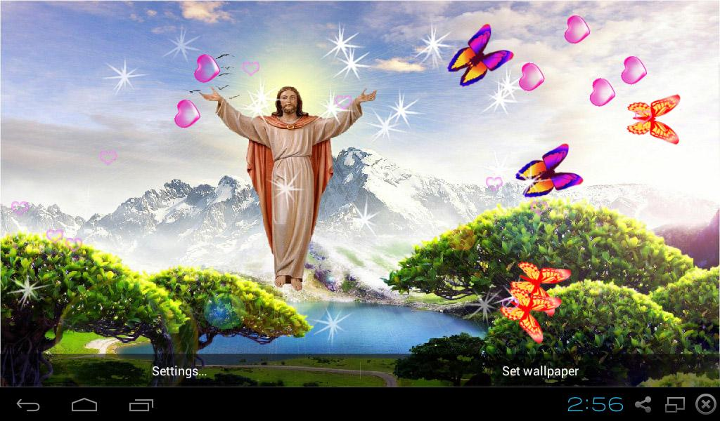 3D Jesus Wallpapers 530 Screenshot 9