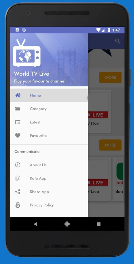 World TV Live 3 2 APK Download - Android Entertainment Apps