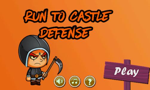 Run To Castle Defense 3 2.0 screenshot 2