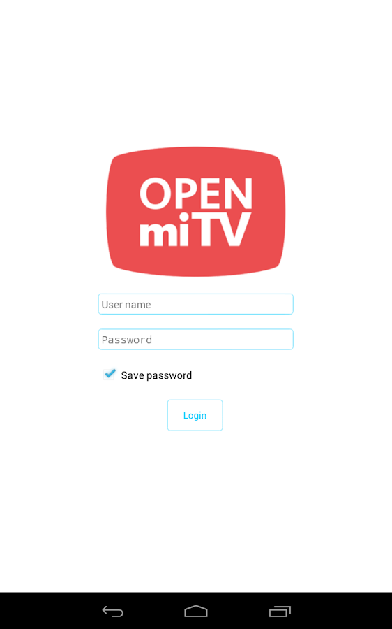 Open miTV 2 9rc4 APK Download - Android Entertainment Apps
