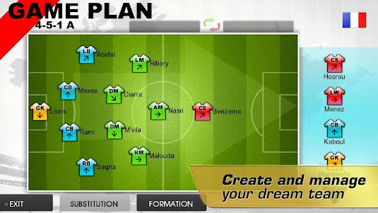 Real Football 2012 1.6.1d screenshot 4