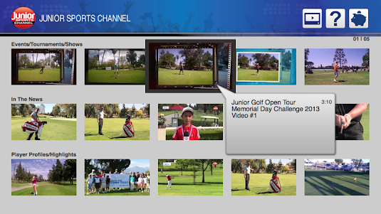 Junior Sports Channel 1.0 screenshot 1