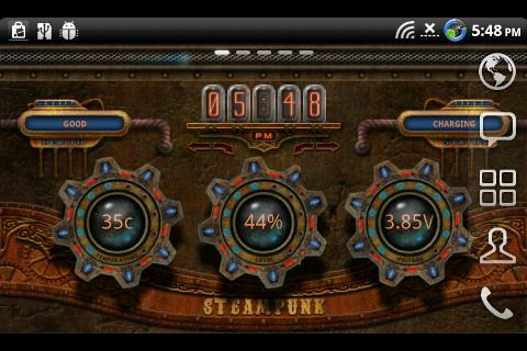 Steampunk Time Live Wallpaper 10 Apk Download Android