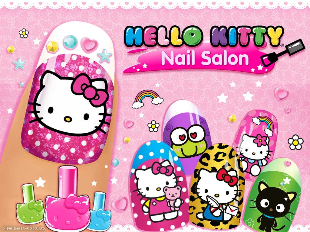Hello Kitty Nail Salon 1 5 Apk Download Android Casual Games