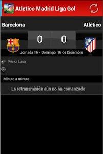 Atletico Madrid Liga Gol 2.3 screenshot 2