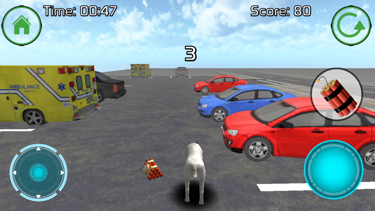 Goat Gone Wild 3D+ 1 0 APK Download - Android Simulation Games