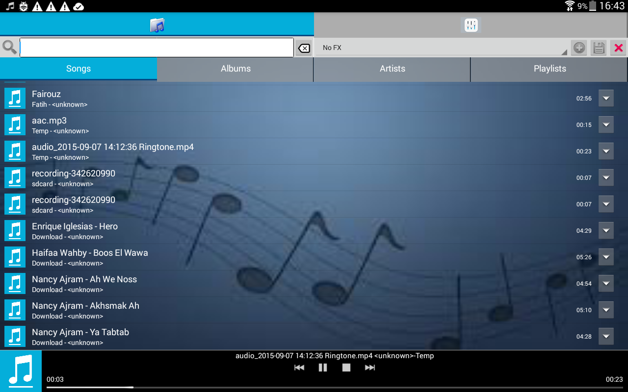 FXMusic Audio Player Karaoke 2 5 1 APK Download - Android