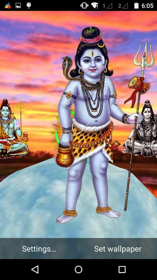 Shiva 3D Live Wallpaper 3.1 APK Download - Android ...