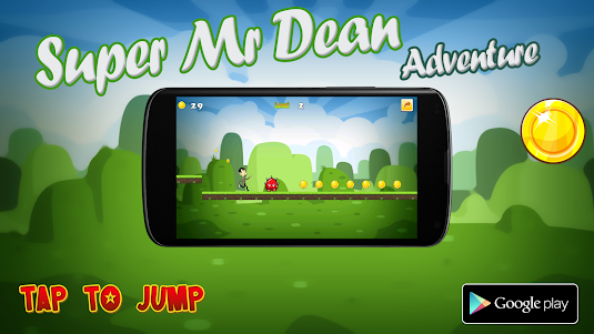 Super Mr Dean Adventure 2.0.2 screenshot 1
